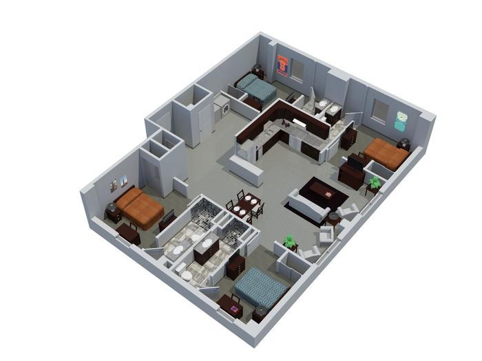 Syracuse Student Housing – Syracuse University Housing Floor Plans